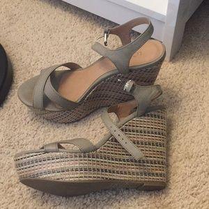 Barely worn LC Lauren Conrad Wedges